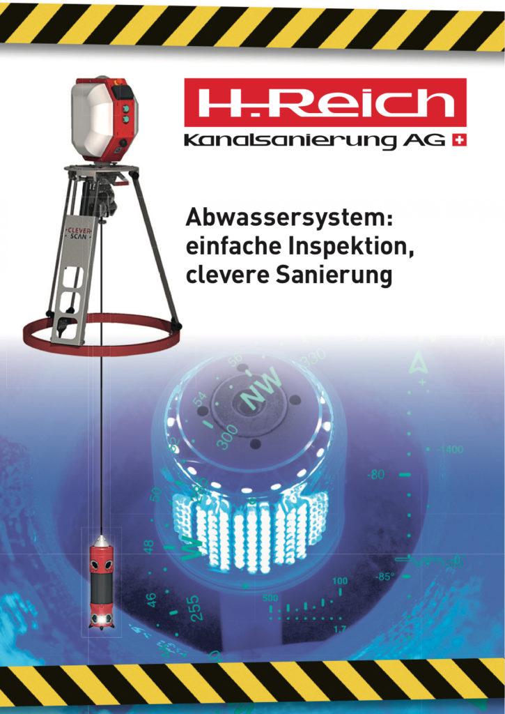 Kanalsanierungs Broschüre