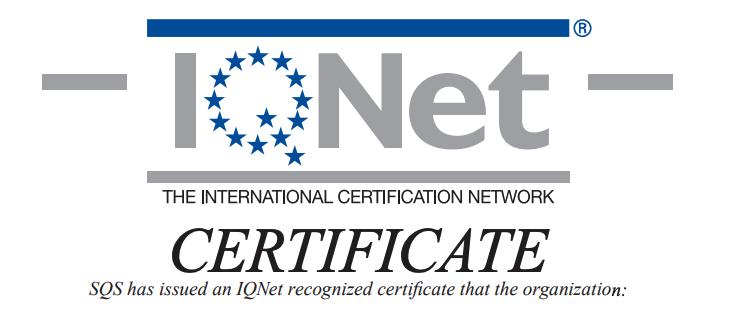 ZertifizierungenZertifizierung im Bereich Kanalsanierung AG